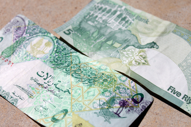 Qatari Riyal FIVE