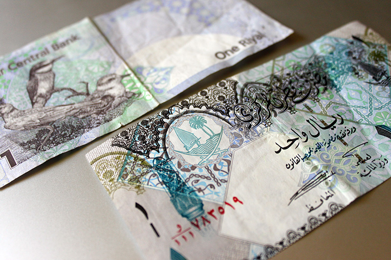 Qatari Riyal ONE