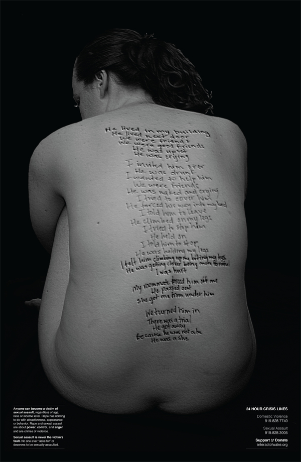 Michelle Moore - Rape and Sexual Abuse Poster