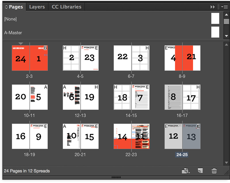 Manual imposition printing InDesign CC 13